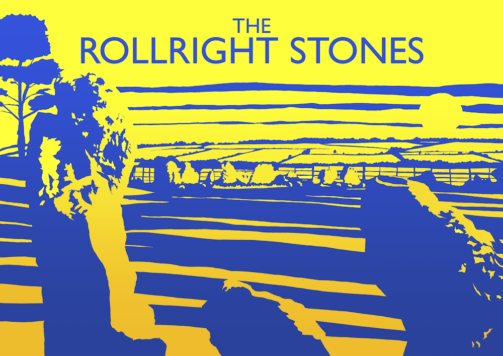 Rollright Stones Art Print