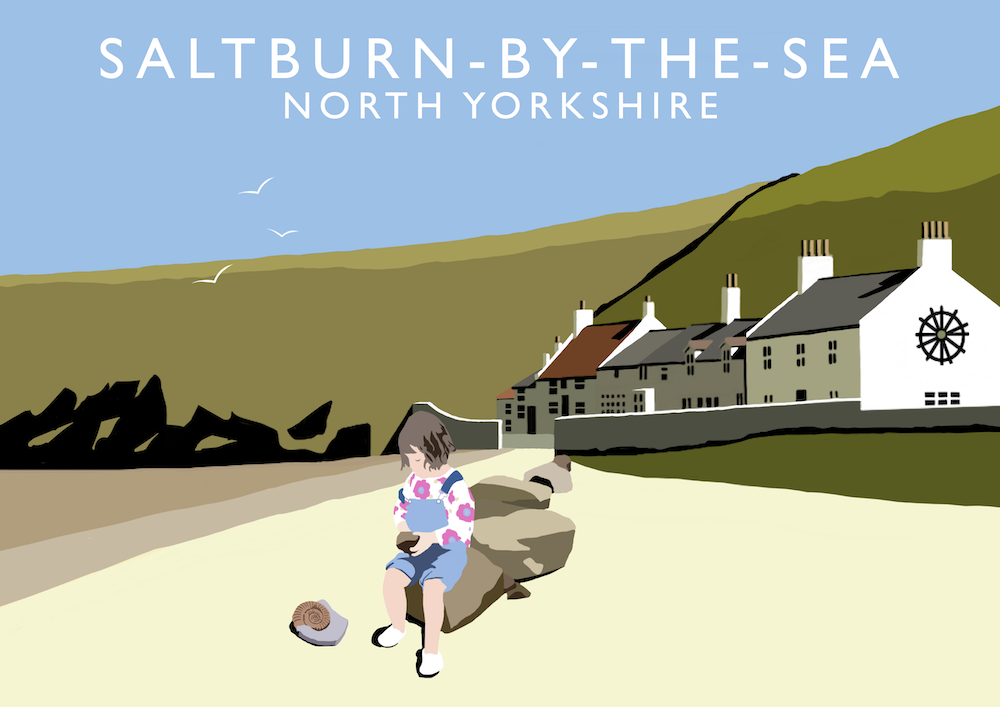 Saltburn-by-the-Sea Art Print