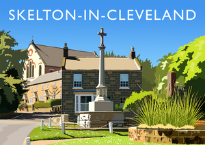 Skelton-in-Cleveland Art Print