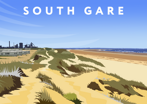 South Gare Art Print