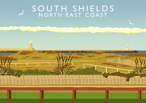 South Shields Art Print