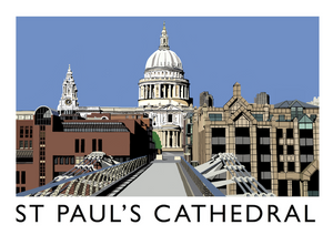 St Paul's Cathedral Art Print