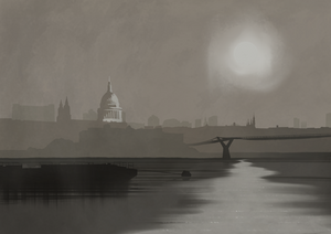 St Paul's Cathedral Art Print (Fog)