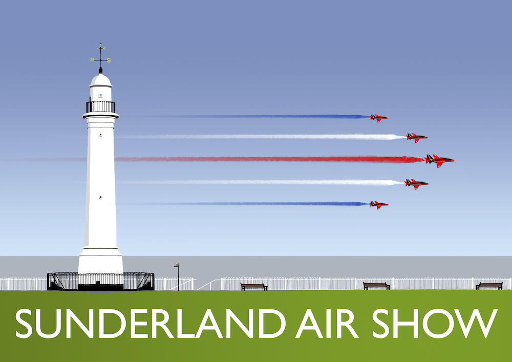 Sunderland AIr Show Art Print