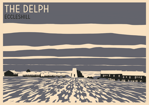 The Delph, Eccleshill Art Print
