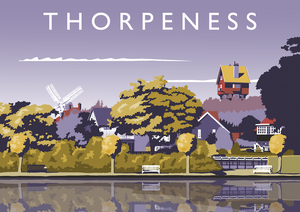 Thorpeness Art Print