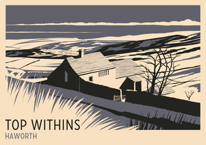 Top Withens, Haworth Art Print