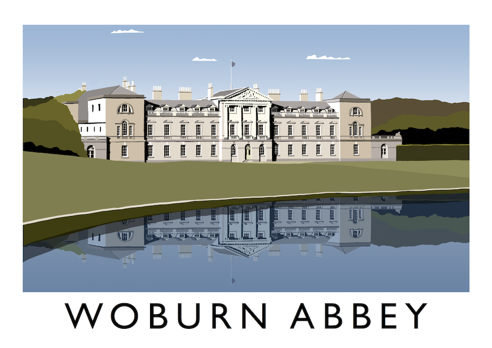 Woburn Abbey Art Print