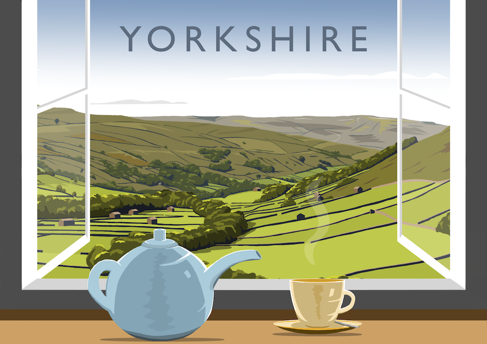 Yorkshire Tea 2 Art Print