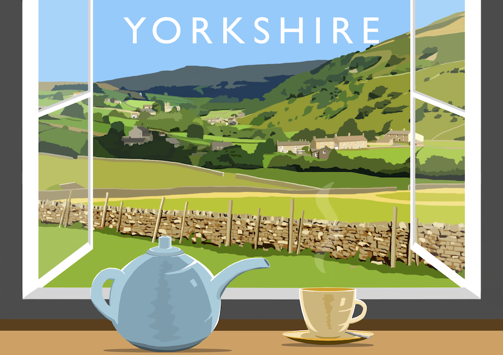 Yorkshire Tea 4 Art Print