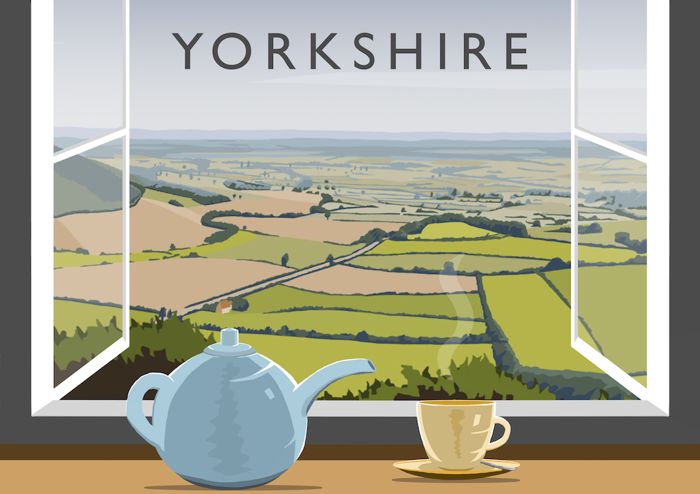 Yorkshire Tea 5 Art Print