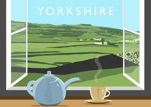 Yorkshire Tea 6 Art Print