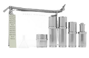 LUXE AIRLESS TOILETRY BOTTLE SET
