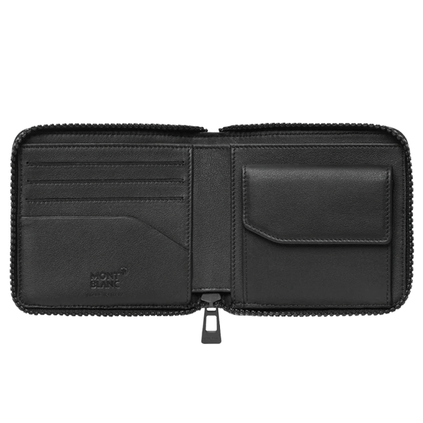 Extreme 2.0 Wallet 4cc Zip-Around with Coin Case Black