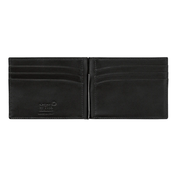 Meisterstück Soft Grain Wallet 6cc with Money Clip Small Black