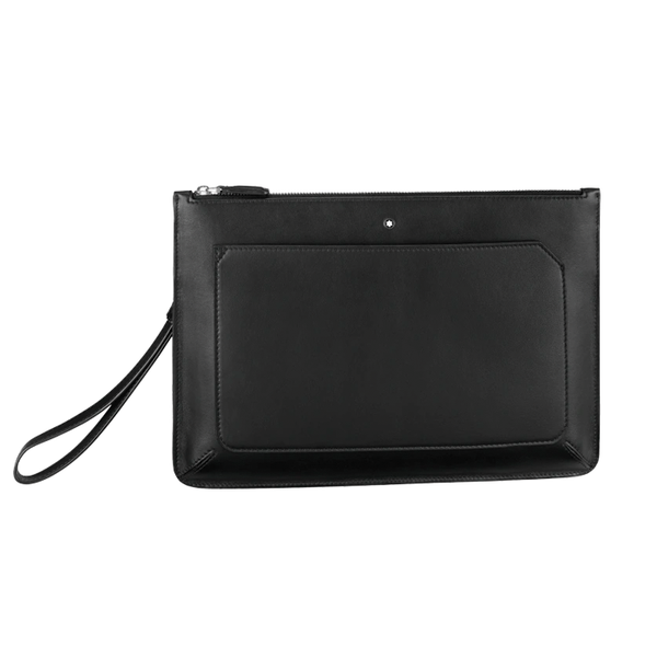 Meisterstück Urban Clutch with zip Black