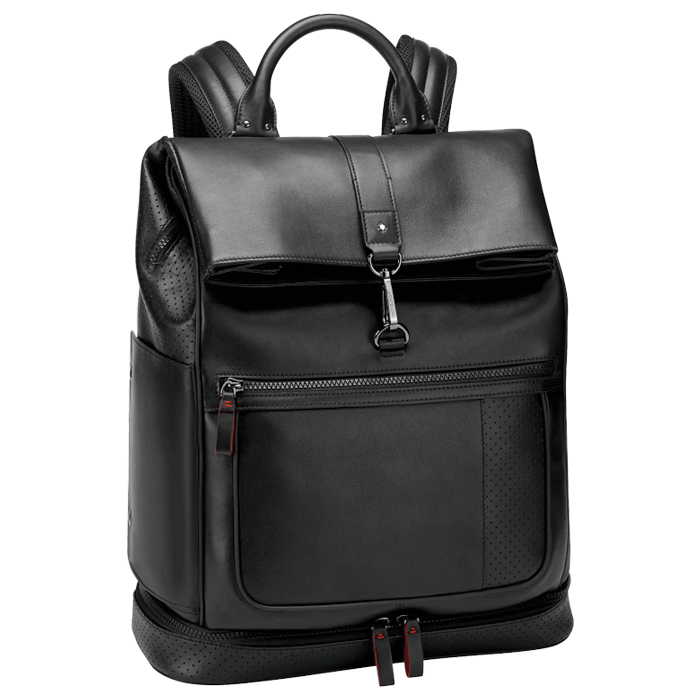 Urban Racing Spirit Backpack with hook closure Black