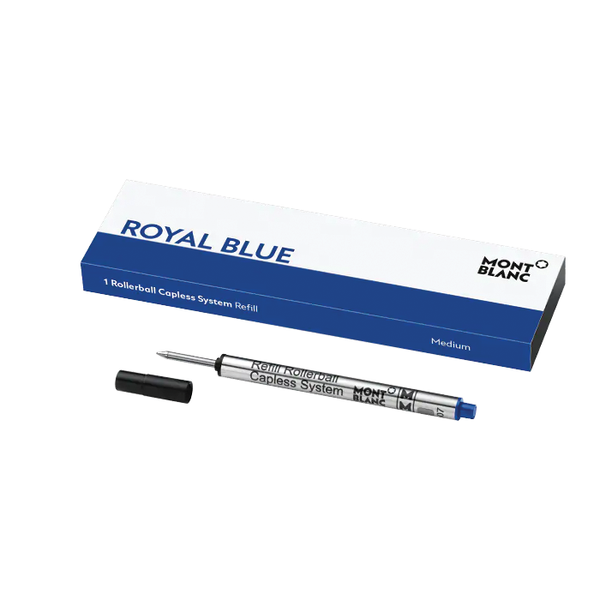 1 Rollerball Capless System Refill Royal Blue