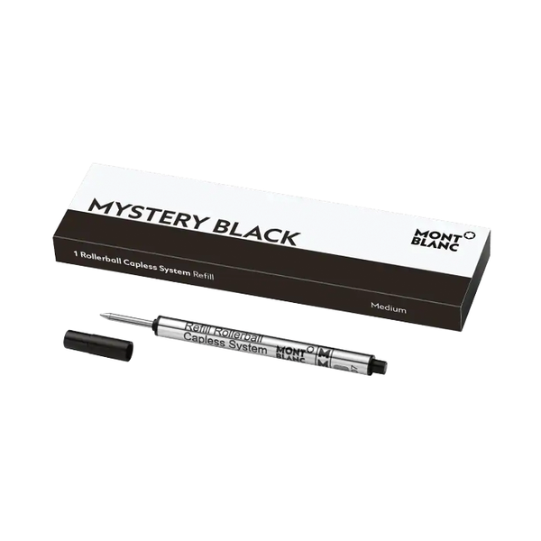 1 Rollerball Capless System Refill Mystery Black