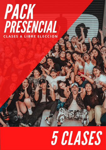 Pack 5 Clases Presenciales