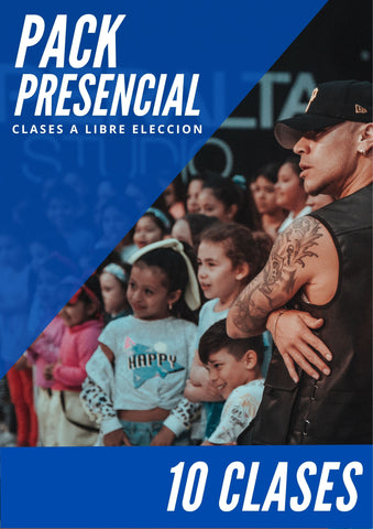 Pack 10 Clases Presenciales