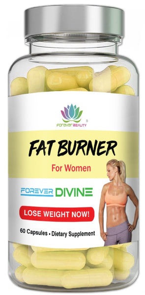 Fat Burner Formula Extreme Women Diet Weight Loss Forever Divine | 60 Capsules | Fat Fasting Diet