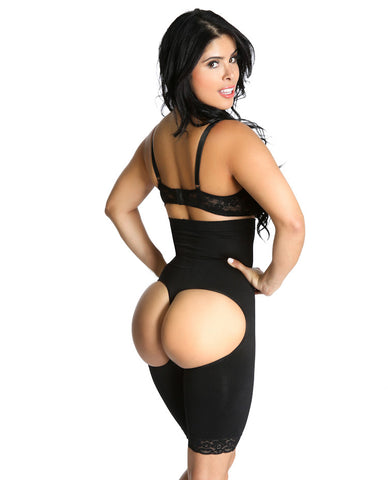 Smok69 Smok69 Intelligent 3 in 1 Black or Nude Waist, Booty and Thigh Shaper Available in Black or Nude  - 11