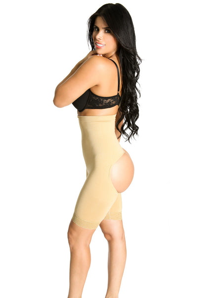 Smok69 Smok69 Intelligent 3 in 1 Black or Nude Waist, Booty and Thigh Shaper Available in Black or Nude  - 2