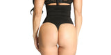 Smok69 Smok69 High Waist Thong Back Full Body Shaper Available in Black  - 2