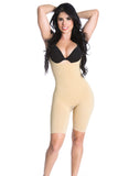 Smok69 Smok69 Mid-Thigh Full Strappy Body Shaper Available in Black and Nude  - 6