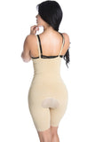 Smok69 Smok69 Mid-Thigh Full Strappy Body Shaper Available in Black and Nude  - 14