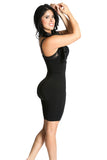 Smok69 Smok69 Mid-Thigh Full Strappy Body Shaper Available in Black and Nude  - 23