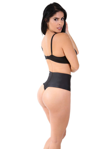 Smok69 Smok69 Everyday Control High-Waisted Shaping Thong Nude or Black  - 1