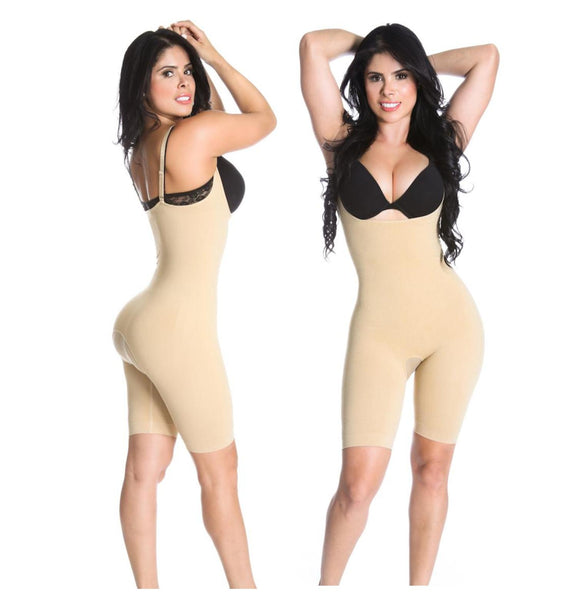Smok69 Bodysuit Butt Lifter Thigh Slimmer Tummy Control Lift Curve And Hip Covered Back 3In1 Bodyshaper 012