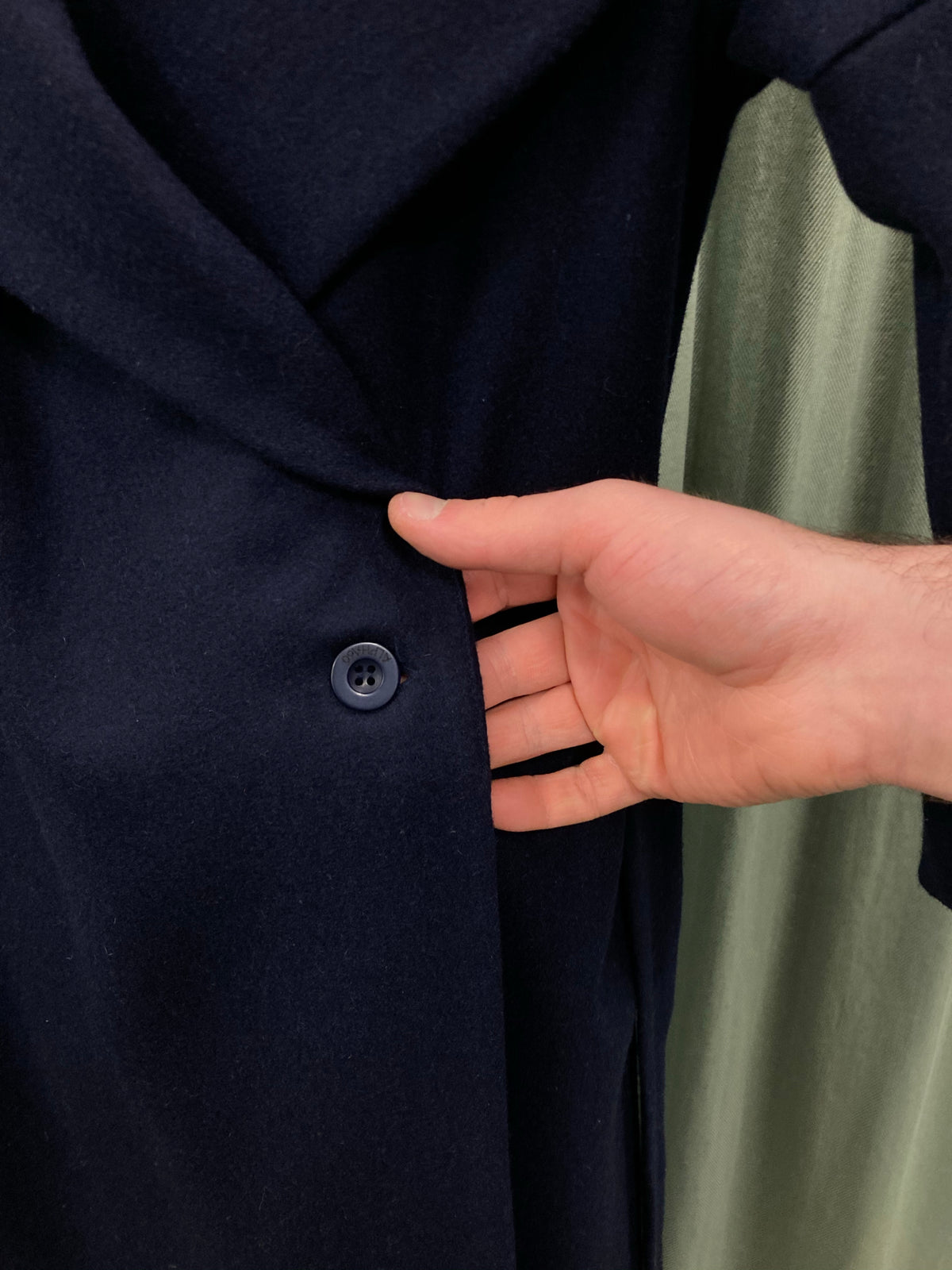 Alpha60 Navy Winter Coat