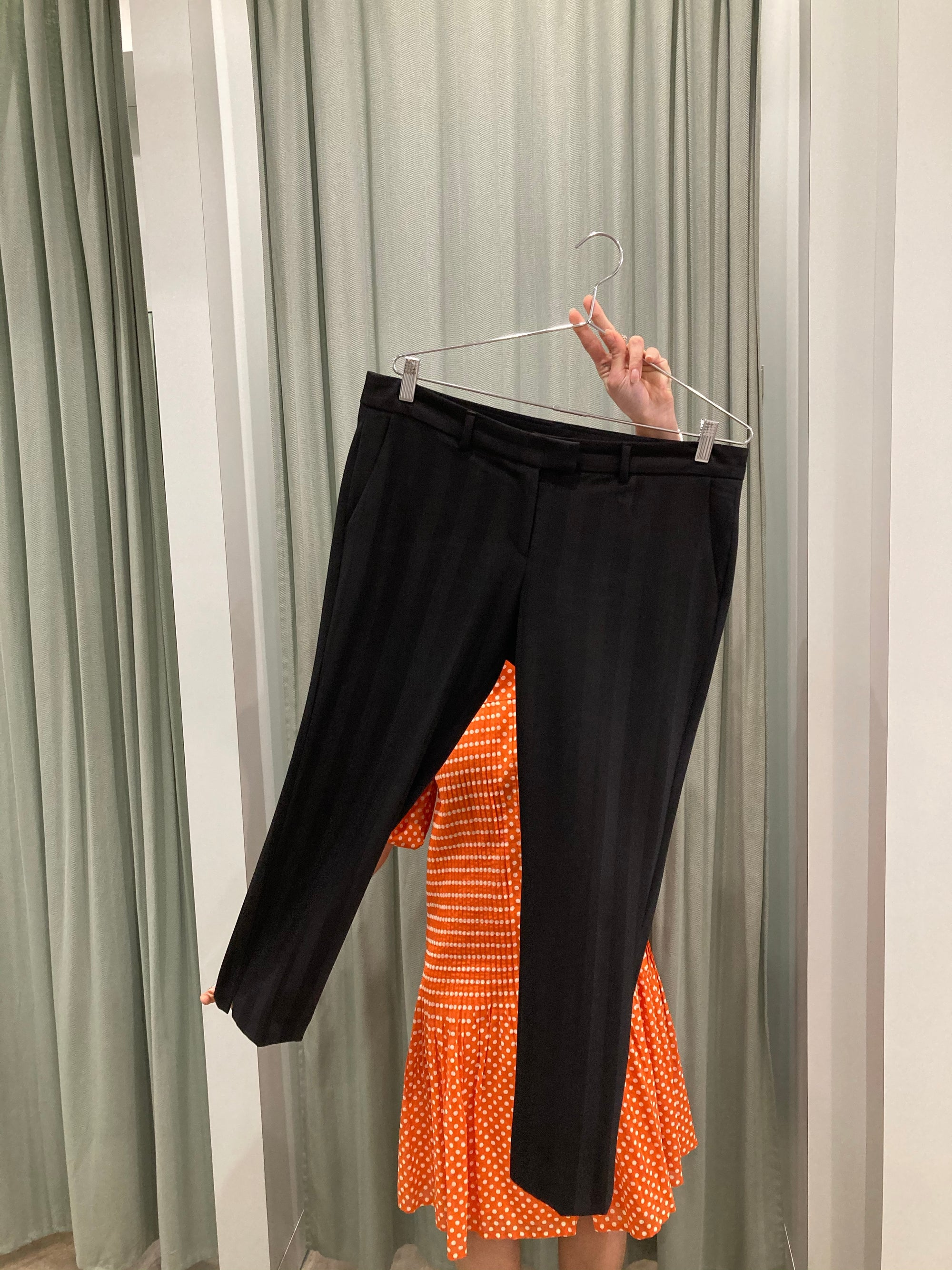Sisley Black Striped Trouser
