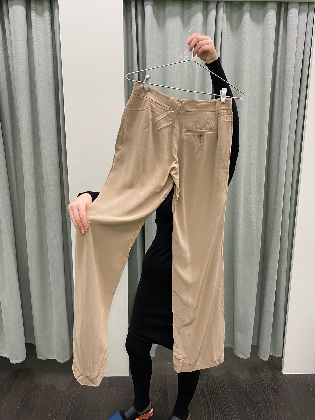 Stefanel Silk Trousers