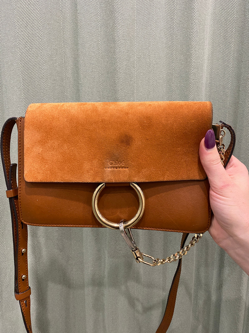 Chloé Leather Cross Body Handbag