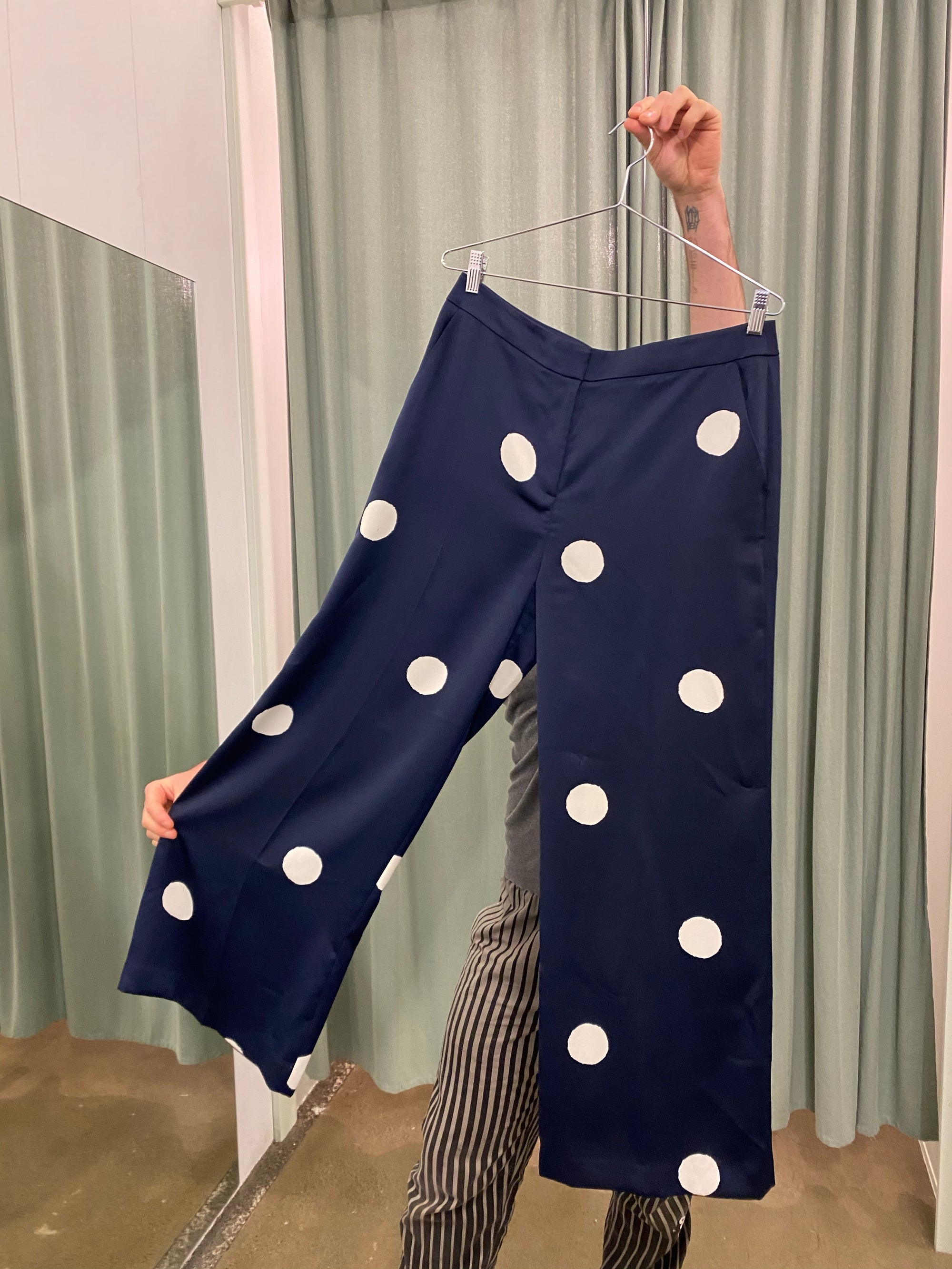 Boden Polka Dot Trousers