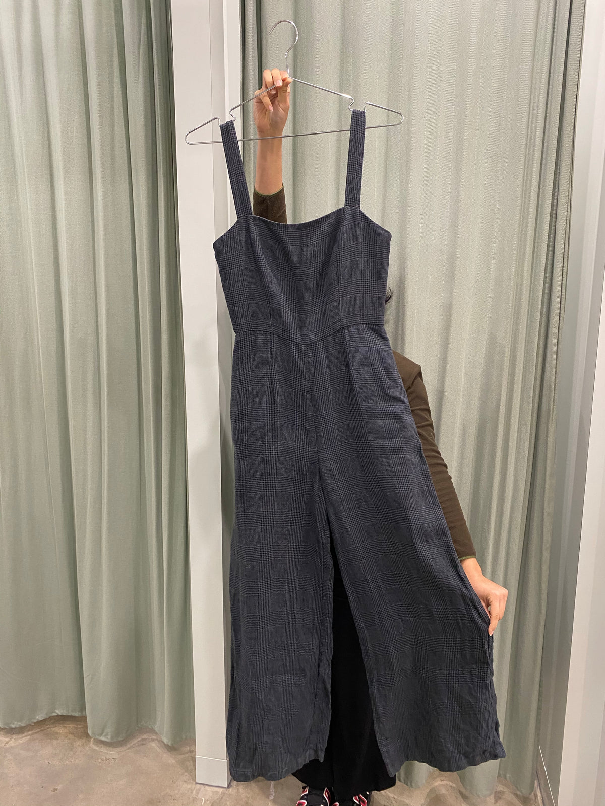 Jillian Boustred Plaid Jumpsuit