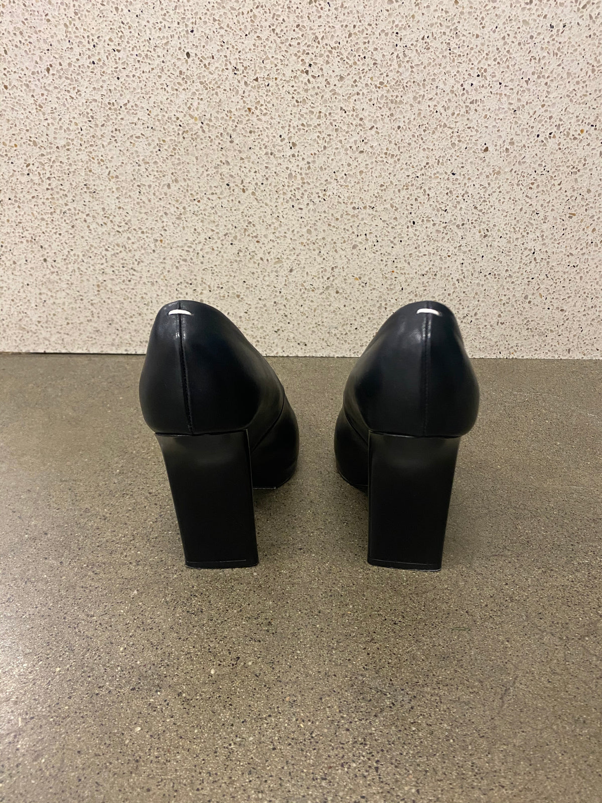 Margiela Architectural Leather Pumps