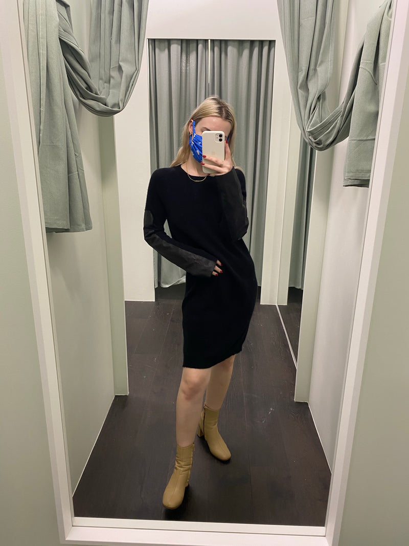 Willow Black Cashmere Dress