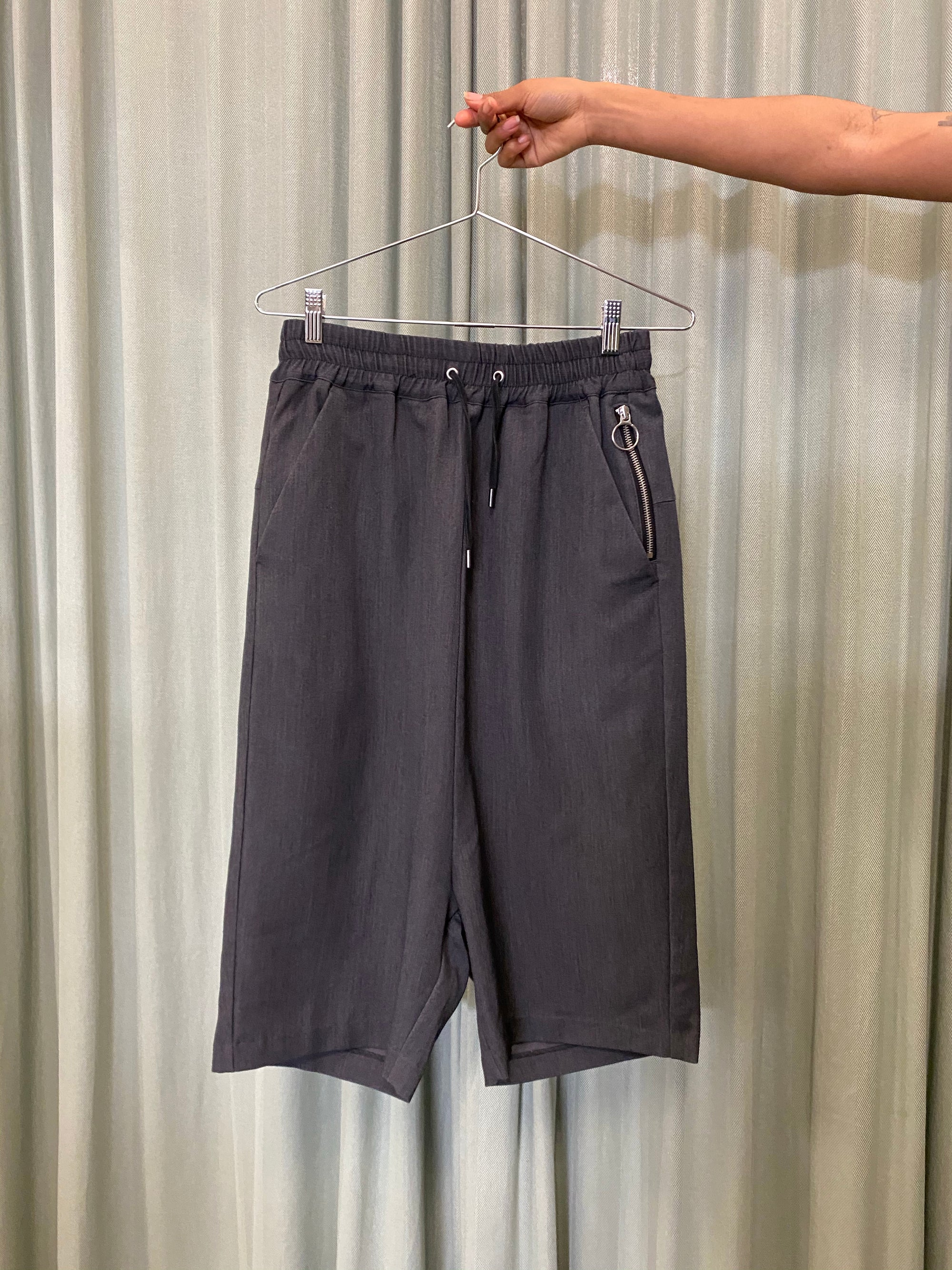 5CM Charcoal Drop Crotch Shorts