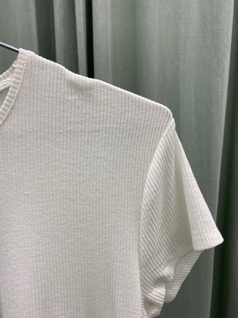 Weekday White Rib Tee