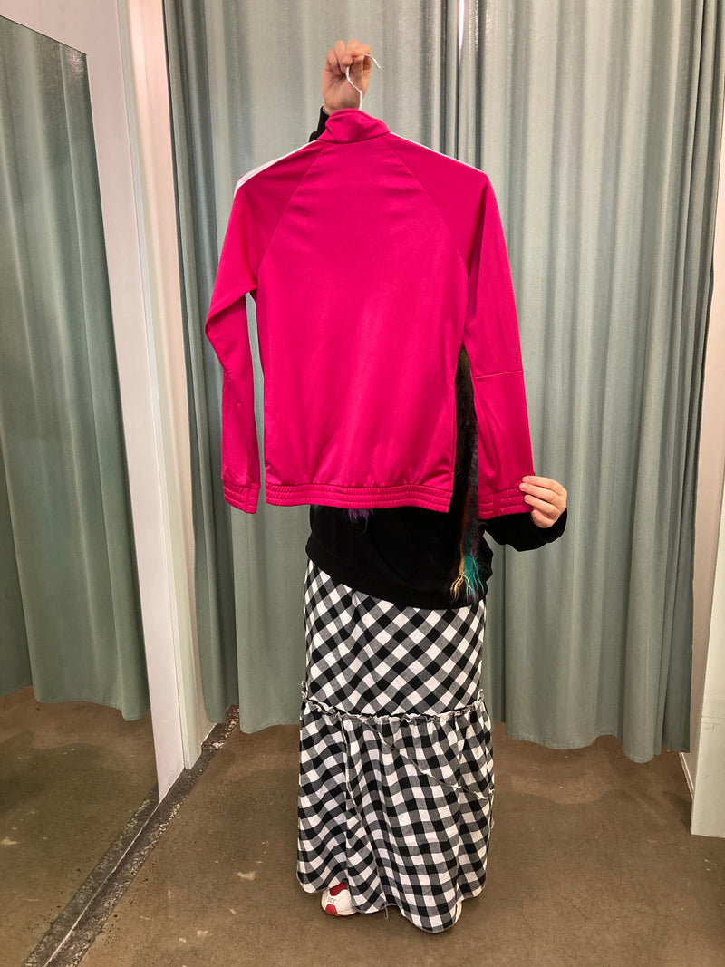 Adidas Bright Pink Tracksuit Jacket