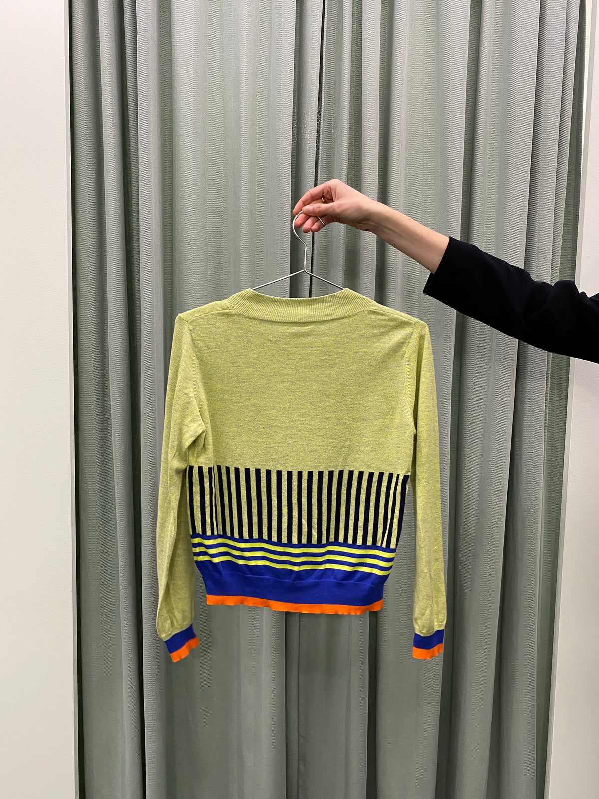 Fat Song Contrast Stripe Jumper