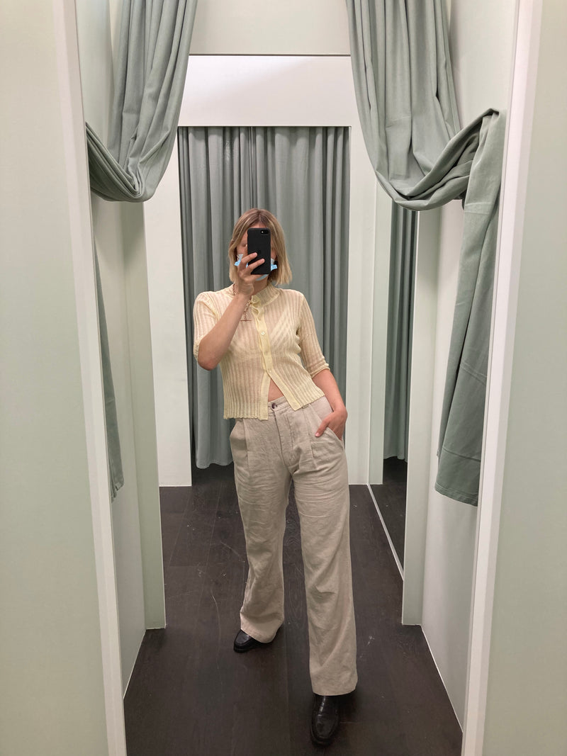 Dress Up Creamy Beige Slacks