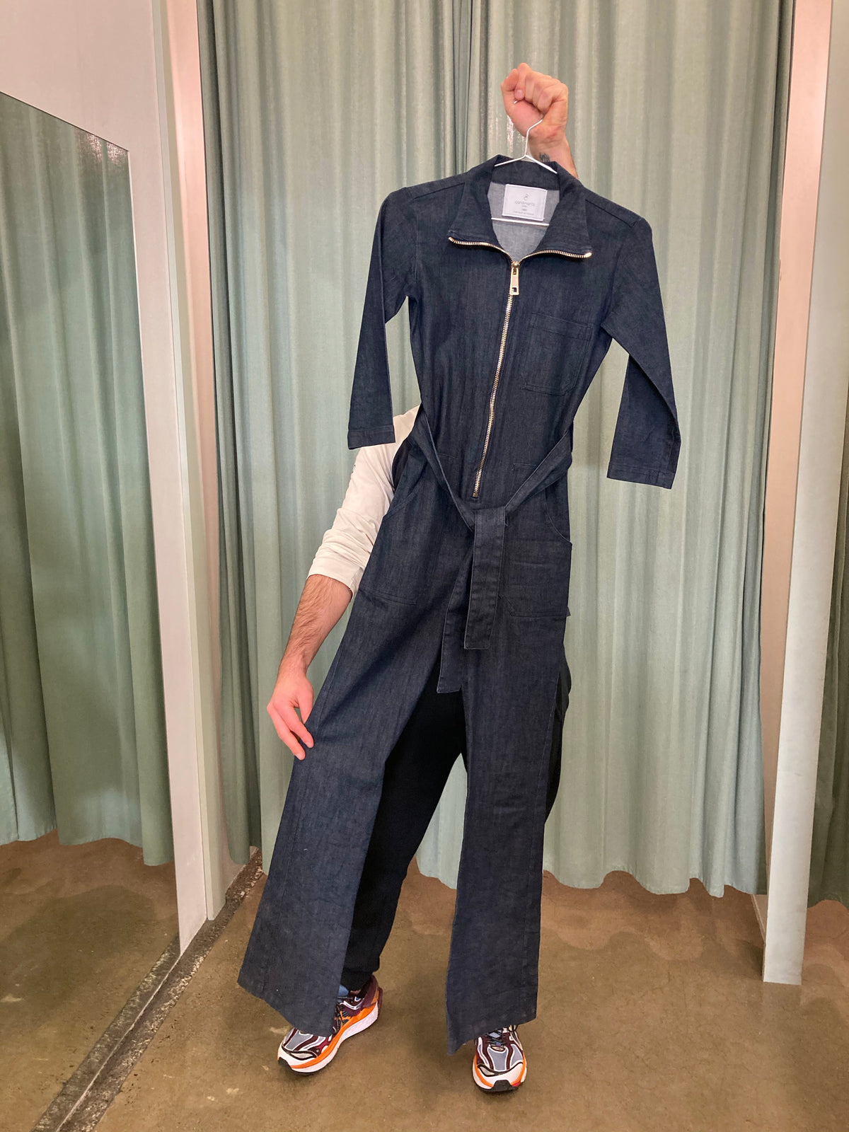 Carolina Ritz Denim Jumpsuit