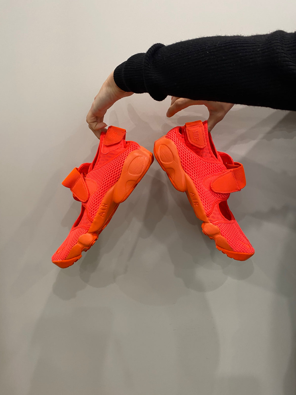 Nike Bright Orange Rifts