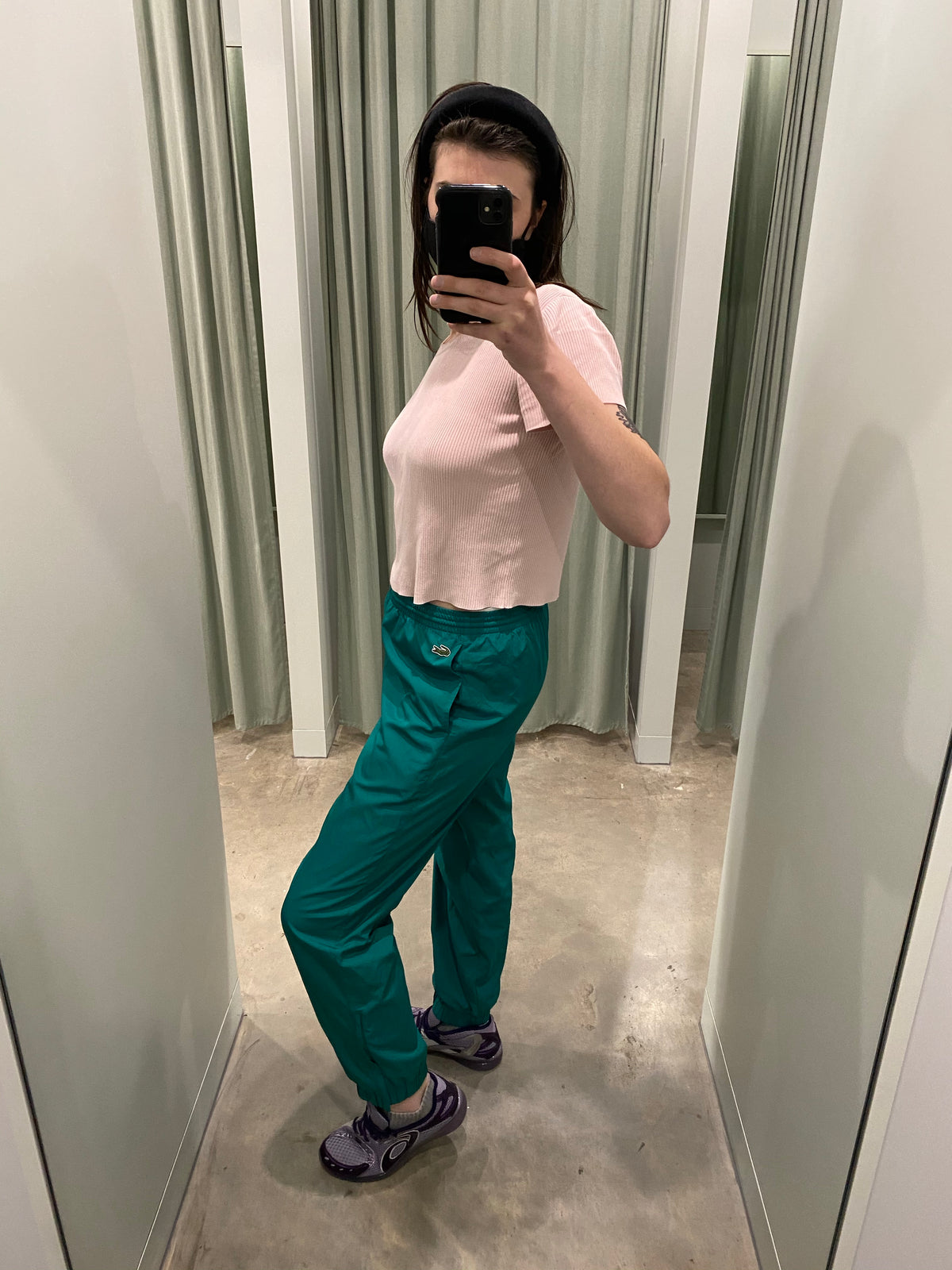 Lacoste Sport Teal Track Pants
